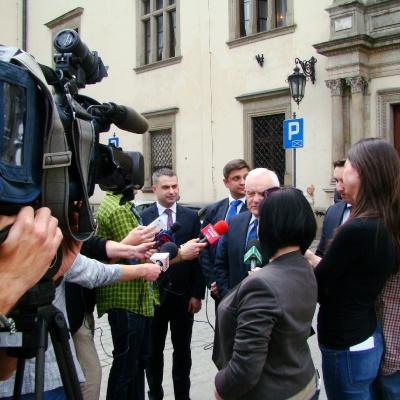 Leszek Miller w Krakowie